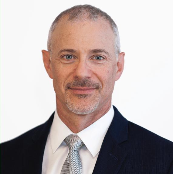 portrait of  CFO Daniel Rosenbaum